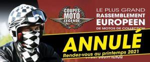 Coupes Moto Légende 2020 ANNULEES @ Circuit de Dijon-Prenois