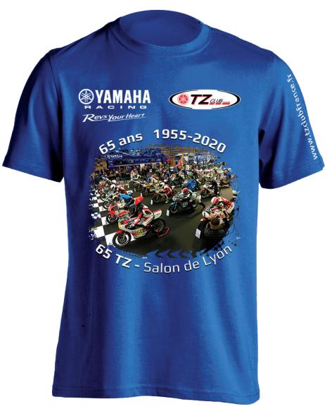 Tee-Shirt Collector 65ans Yamaha du TZ Club France